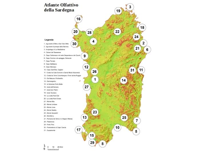 L'Atlante della Sardegna elaborato dall'Università di Cagliari e dal Naturalista Gian Marco Marrosu