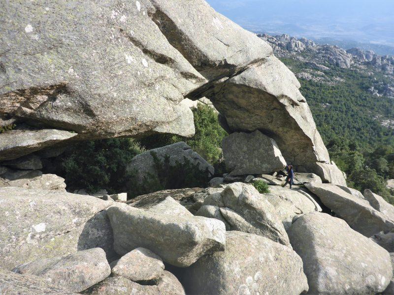 L'Arco di roccia, Monumento Regionale Arco e Pta Sa Berritta-Suprappare, foto Marco Marrosu