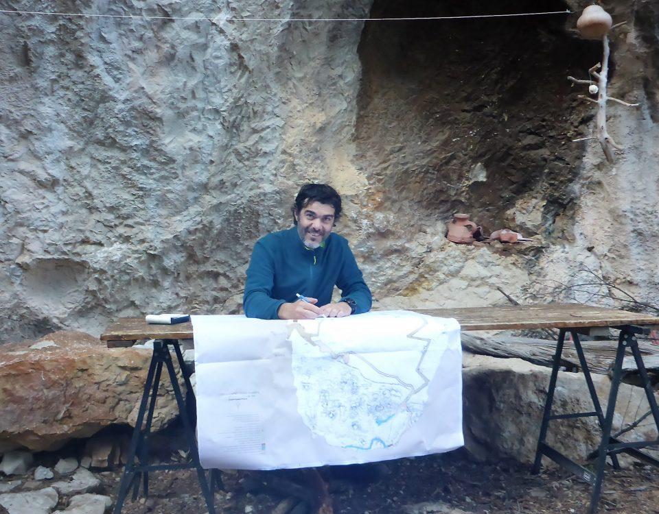 Il Dott. Marco Marrosu durante i lavori